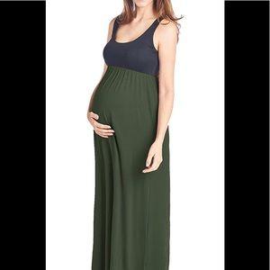 Beachcoco Maternity Maxi Tank Dress